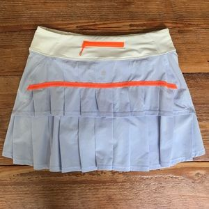 Lululemon Pace Setter Skirt Cool Breeze Nimbus *6T